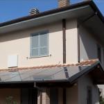 Pannelli fotovoltaici su tetto. Due Emme Mariani