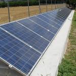 Pannelli fotovoltaici su terreno agricolo. Due Emme Mariani